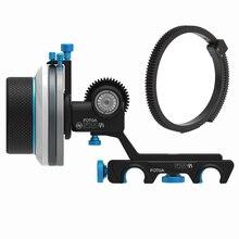FOTGA DP500III 3 Quick Release A/B Hard Stop Follow Focus for 15mm Rod DSLR Rig bvlgari aqua marine pour homme