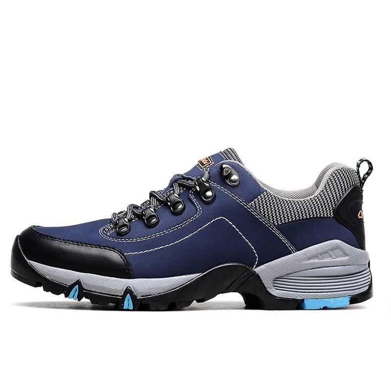 Men's sneakers Waterproof Hiking Shoes Mountain Hiking Boots walking Trekking Shoes Outdoor Man Climbing Shoes Zapatos Hombre size 36 44 men women hiking shoes sport waterproof leather outdoor shoes mountain climbing boots shoes botas zapatos hombre hw65