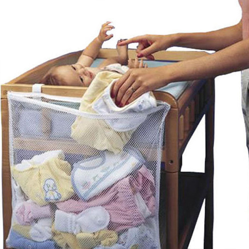 Baby Crib Organizer Bed Hanging Household Large Crib Circumference Hanging Storage Dirty Clothes Bedding Accessories