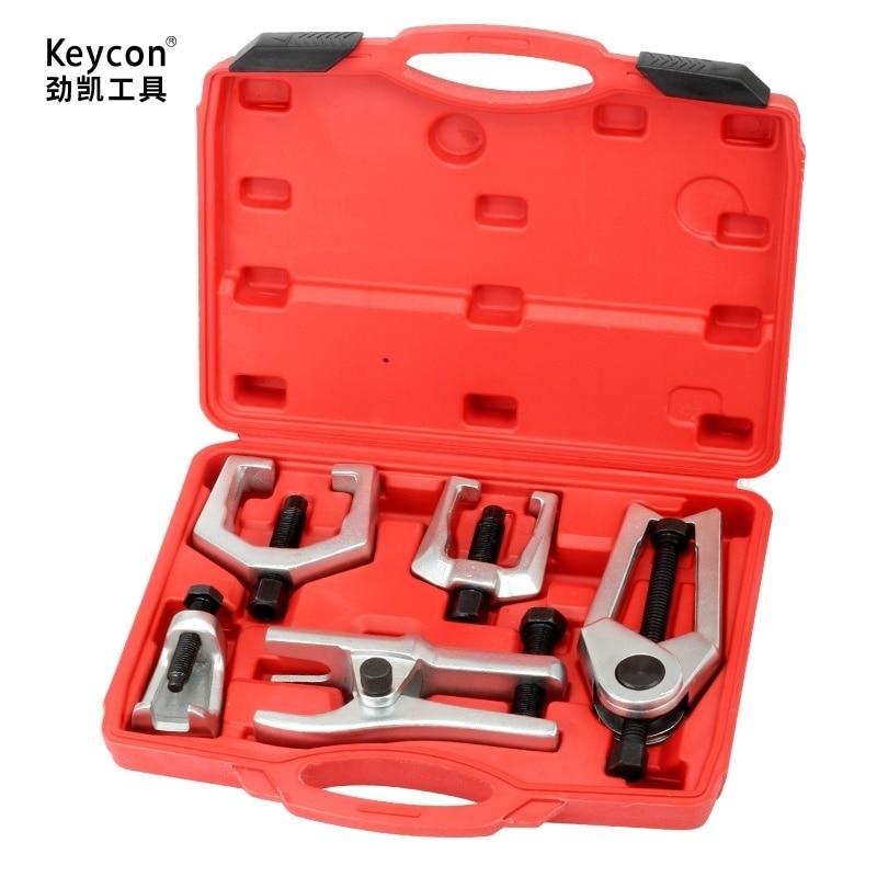 5 Pcs Universal Car Blind Hole Pilot Bearing Puller Internal Extractor Installation Removal Tool Kit Slide Hammer цены