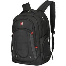 SCOGOLF 15.6 pouce ordinateur portable sac à dos hommes voyage/business sac à dos étanche sac à dos en nylon euro style SC-9100 noir