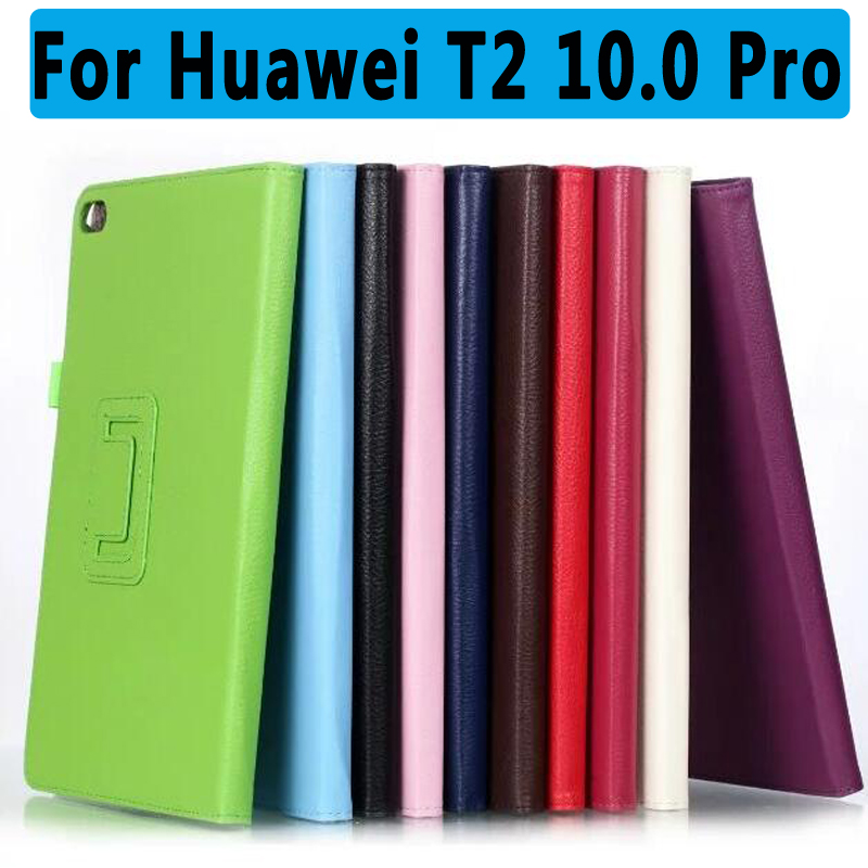 100% High Quality PU Leather Protective Cover For Huawei MediaPad T2 10.0 Pro Smart Case for Huawei Mediapad T2 10.0 Pro Cover pu leather case for huawei mediapad m2 lite 7 0 ple 703l 7 inch stand smart cover for huawei t2 7 0 pro tablet case capa fundas