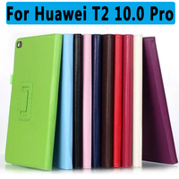 100 High Qulity PU Leather Protective Cover For Huawei MediaPad T2 10 0 Pro Smart Case