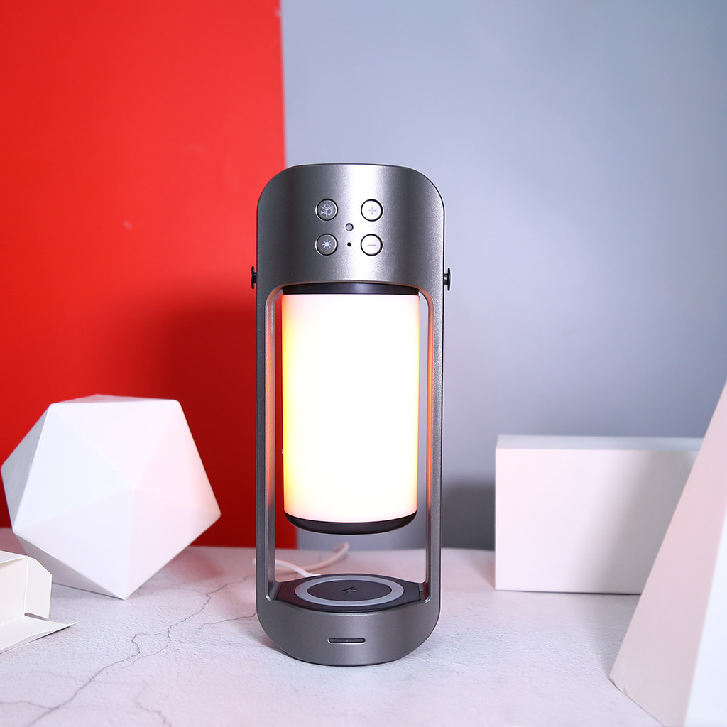 Image 3 - bluetooth Speaker Wireless USB Led Flame Lights Outdoor Portable LED Flame Atmosphere Lamp Stereo Speaker Outdoor Camping Woofer-in Outdoor Speakers from Consumer Electronics