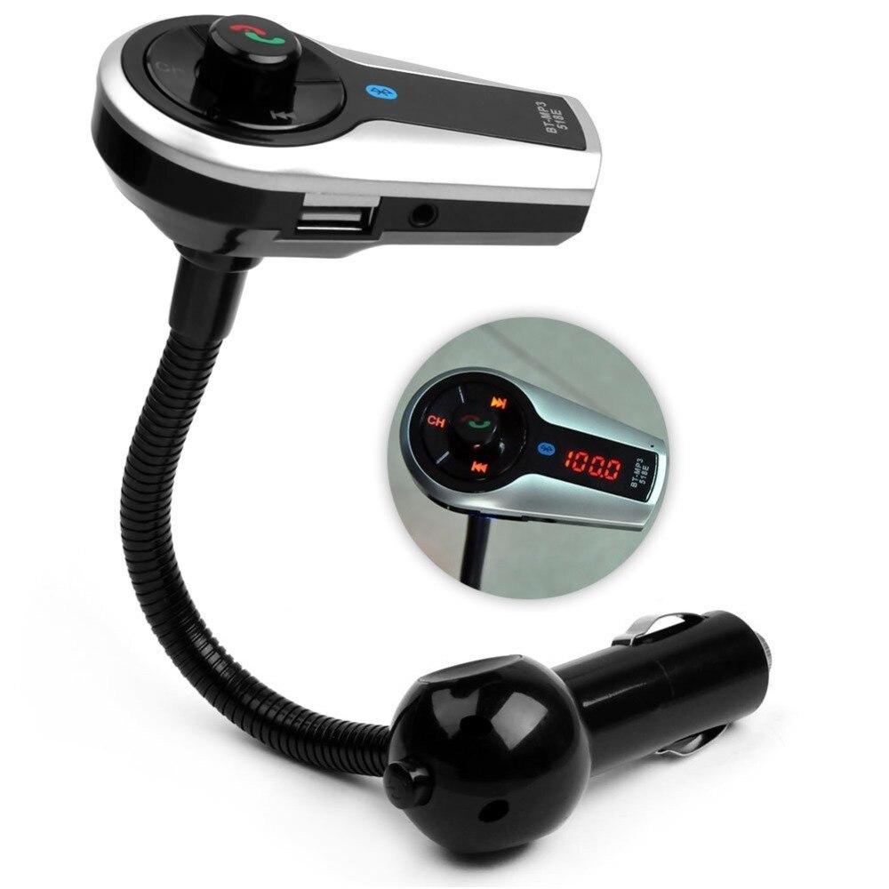 GOgroove FlexSMART X2 Mini Wireless Bluetooth FM Transmitter with USB Charging
