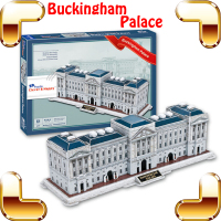 New DIY Gift London Buckingham Palace 3D Puzzle Places Of Tourist Puzzle Symbolic Building Toys Piece Up Game For Adult Collect