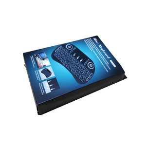 Image 4 - Беспроводная мини клавиатура I8 2,4 ГГц с подсветкой, сенсорная мышь, батарея AAA * 2 со светодиодной подсветкой для смарт ТВ, мини ПК