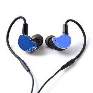 Image 3 - 2019 LZ Z05A באוזן אוזניות דינמי כונן HIFI IEM מתכת אוזניות Earbud עם נתיק לנתק MMCX כבל MMCX להסרה LZ A6