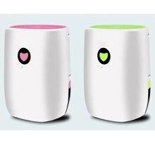DMWD, ультра-тихий влагопоглотитель, мини-осушитель воздуха, впитывающий влагу для ванной комнаты, спальни, кухни, автоотключение, светодиодный индикатор, 800 мл