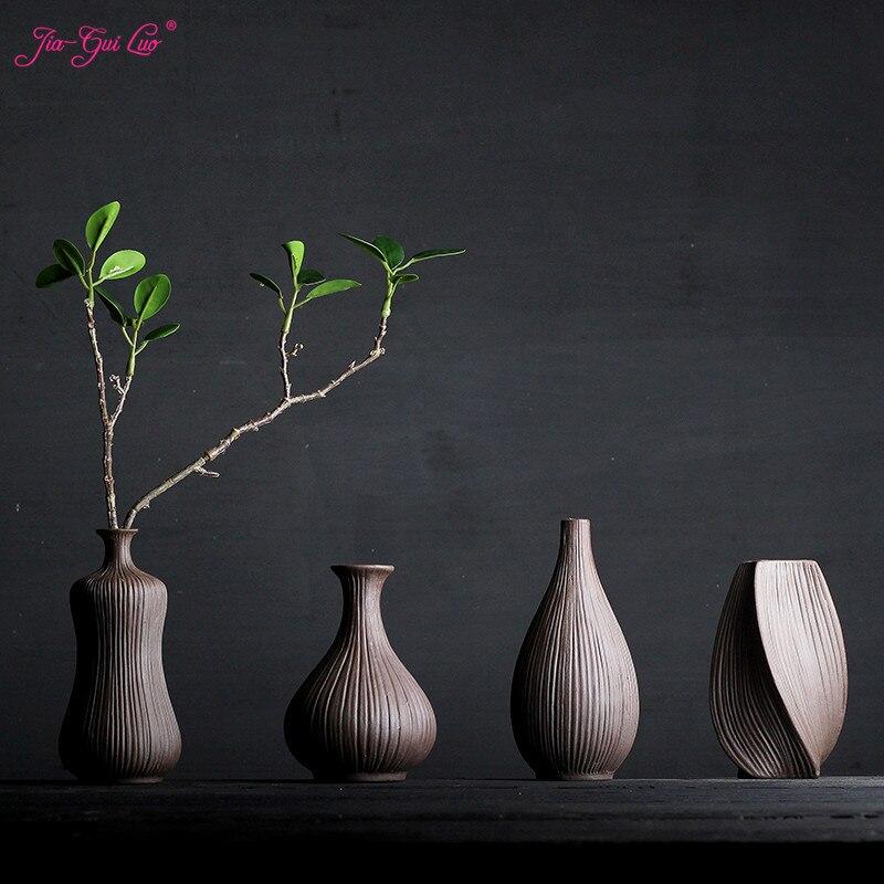 JIA-GUI Luo Керамика вазы домашний стол аксессуары сухоцветы и цветочные декоративные контейнеры творческие дисплей керамика