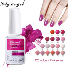 Lily Angel Hot Sale 15ml Nail Gel Polish UV LED Varnish 120 Colors Soak-off DIY Manicure Lacquer Art Long-lasting 31-60
