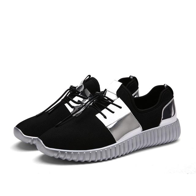 2016 Новый Летний Дышащий Женщин Повседневная Обувь Осенняя Мода Тренеры Обувь женская Открытый Полуботинки Повседневные Дизайнер Обуви Продажа