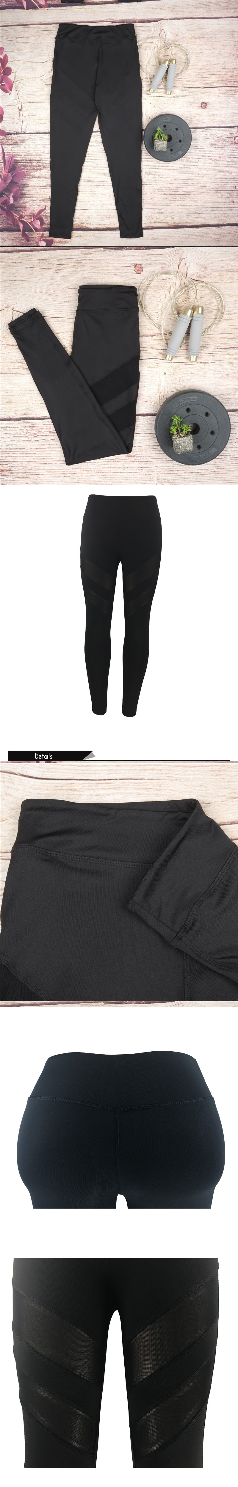 Ladies Mesh High Waist Workout Leggings Fitness Women Pants Breathable Push Up Leggings Women Quick Dry High Quality Leggins 9