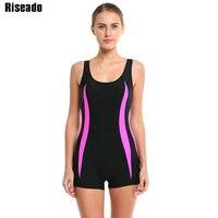 2016 Brand Women One Piece Swimsuit Sport Swimwear Straight Backless Maillot De Bain Beach Bathing Suits