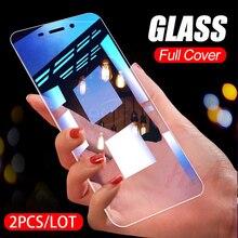 2PCS 9H 2.5D 0.26MM מזג זכוכית עבור Huawei Honor 7A 7C פרו 8X RU מסך מגן הכבוד 9 9 לייט 8 8 10 לייט מגן זכוכית