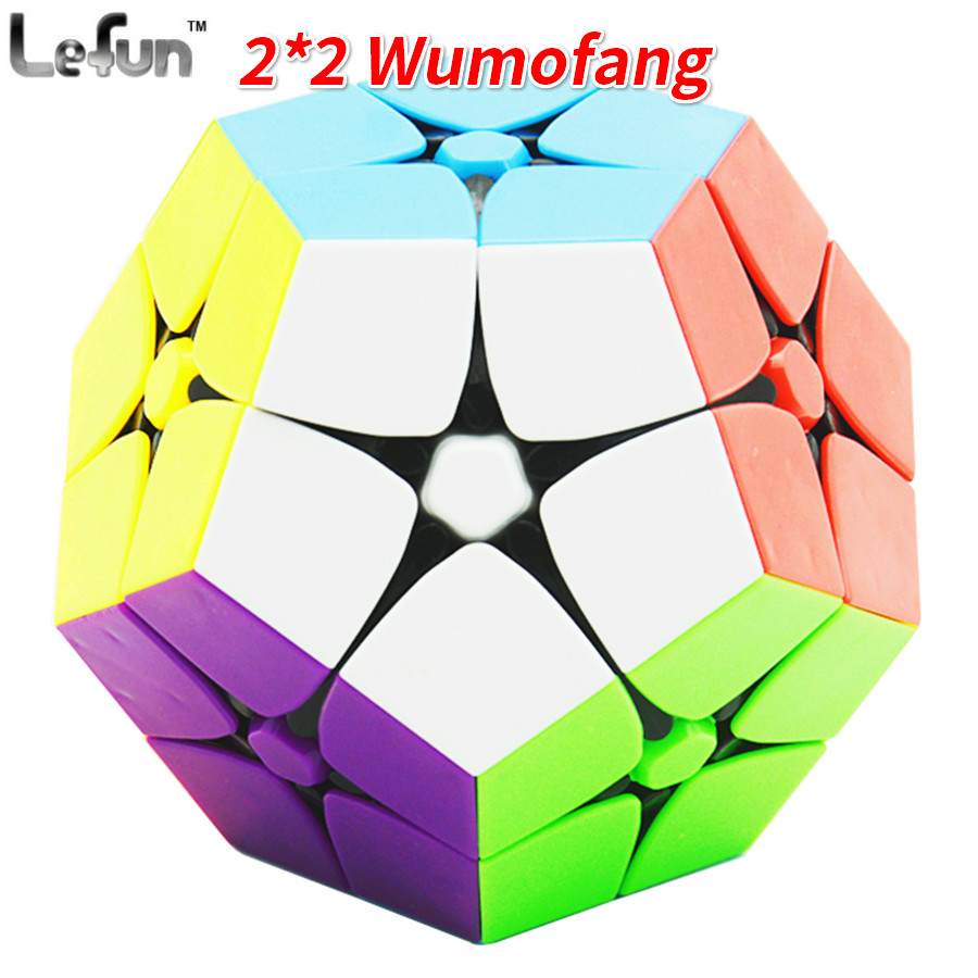 Lefun 2x2 Megamin Magic Cube Stickerless 2Layer Wumofang Professional Puzzle Speed Cubes Educational Special ToysLefun 2x2 Megamin Magic Cube Stickerless 2Layer Wumofang Professional Puzzle Speed Cubes Educational Special Toys