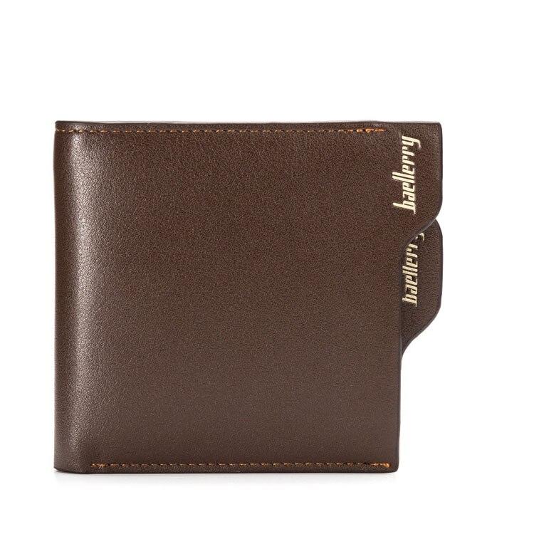 77e23cc80 2017 marca baellerry hombres Cartera de cuero cremallera tarjeta clip  práctico hombre cartera monedero embrague ocasional cartera hombre