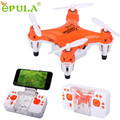 HL 2016 L6058W 2.4G 4CH 6 Axis RC 3D Rollo Drone Quadcopter Mini Pocket WiFi Cámara FPV OC26