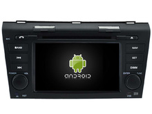 Android CAR Audio reproductor de DVD gps PARA MAZDA 3 2004-2009 cabeza de navegación Multimedia unidad dispositivo receptor