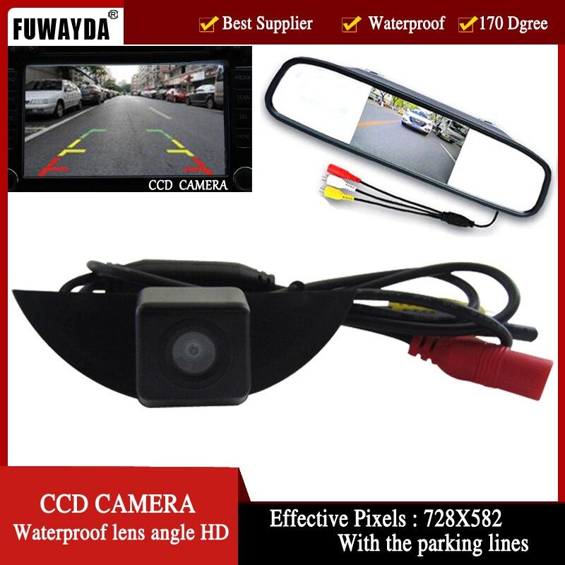っFuwayda cámara de visión delantera del coche + monitor para Nissan ...