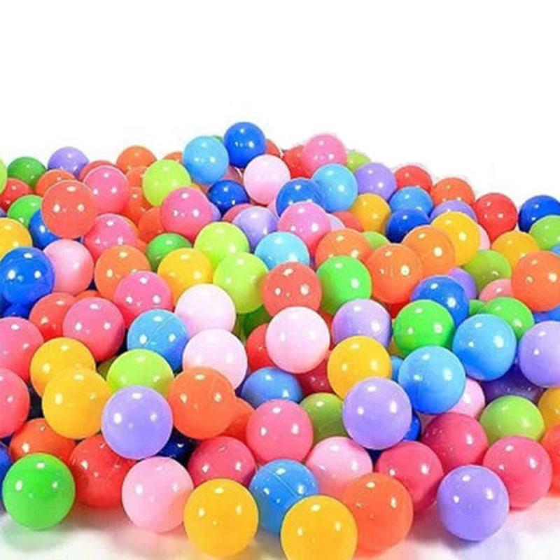 100pcs baby kid swim pool pit ball toy colorful soft plastic ocean ball best design game