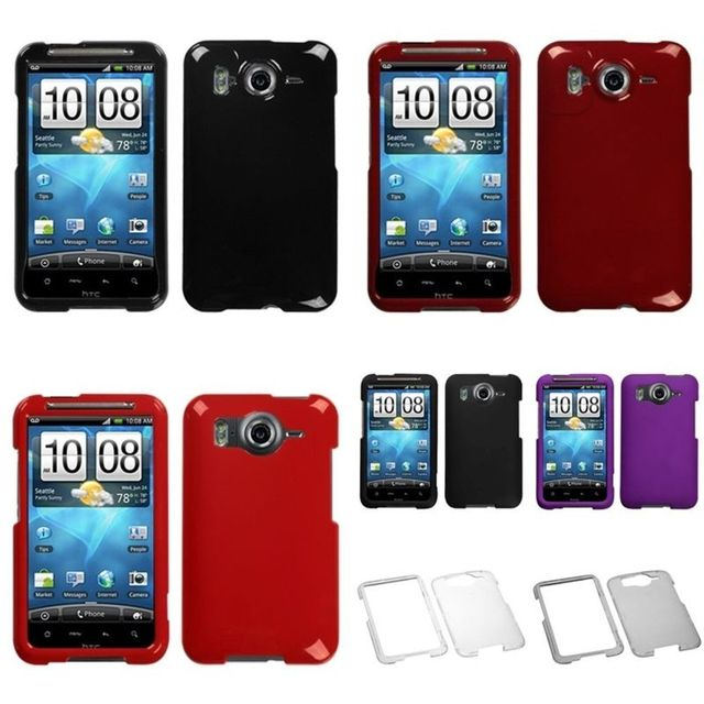 100% authentic 81e63 8c1f8 Red/Black/Grape/Clear/Smoke Hard Case Cover Rubber Skin Phone For HTC  Inspire 4G-in Fitted Cases from Cellphones & Telecommunications on ...