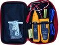 Perseguidor del alambre de tonos y sonda red de Cable Tester teléfono prueba de Cable de cancelación de ruido amarillo 9 V 6F22 Tester