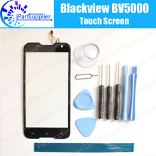 Blackview BV5000 Touch Screen Digitizer 100% Guarantee Original Digitizer Glass Panel Touch  For Blackview BV5000 +tool+Adhesive