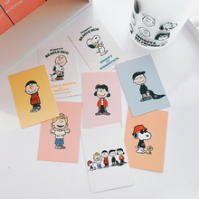 SIXONE 8 Sheets Cartoon Character Card Bookmark Wallet Decorative Cards Photo Background Wall