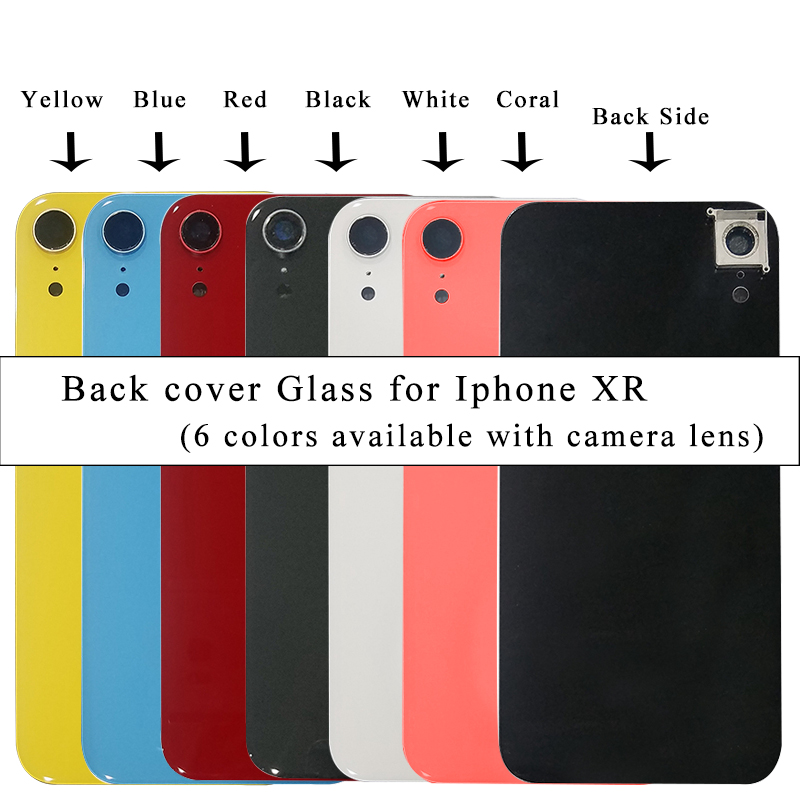 Assemble Rear-Housing Body iPhone Housing-Replacement-Parts Back-Cover Camera Glass AAA