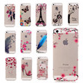 "Lindo caso transparente para iphone 6 6 s 4.7 ""/6 plus 6 s plus 5.5 tpu caso suave del silicio de la cubierta fundas para iphone 6 '5s s de tpu Gel"