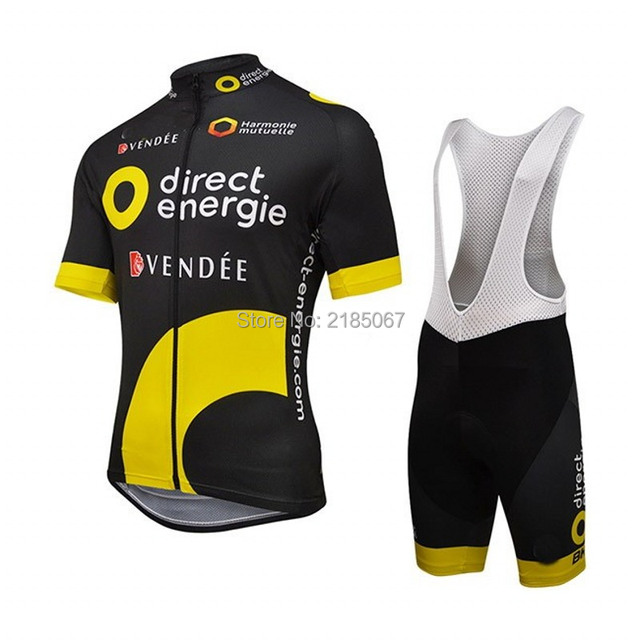 f6946bed7 2016 new Direct Energie bike racing team cycling jerseys kit summer  breathable racing cloth MTB Ropa Ciclismo Bicycle maillot