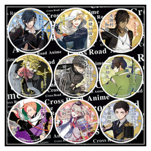 58MM Anime Badge Touken Ranbu Online Kuninaga MikazukiNakigitsune Kogitsunemaru Sword Badge Pin Brooch Badge backpack Fans