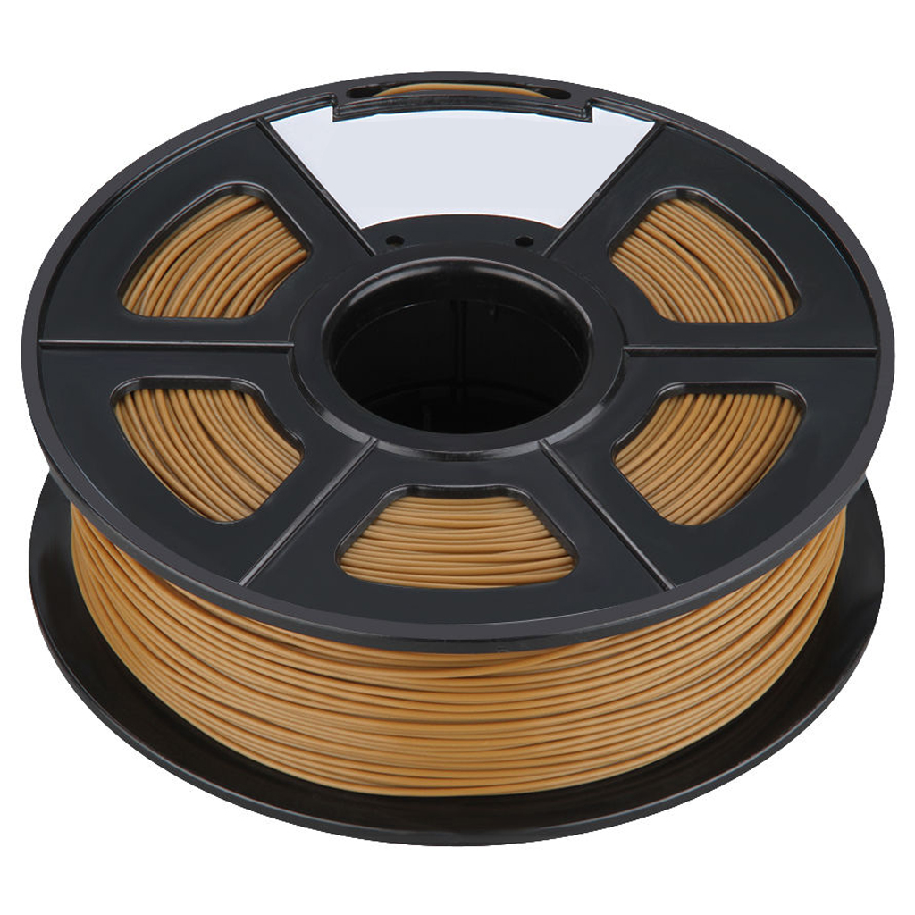 New 3D Printer Printing Filament ABS -1.75mm ,1KG, for Print RepRap Color: Chocolate new anet e10 e12 3d printer diy kit aluminum frame multi language large printing size high precision reprap i3 with filament