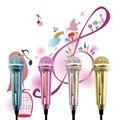 Новый 1 шт. Мини 3.5 мм Проводной Микрофон для Мобильного Телефона Tablet PC Ноутбук Речи Sing серебряный Оптовая