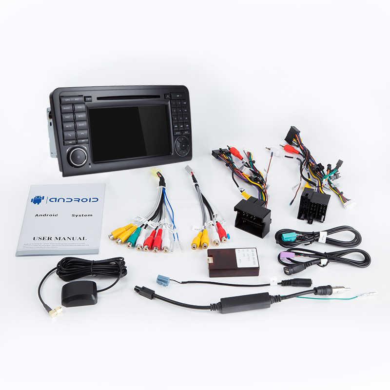 Josmile 2 Din カーラジオ GPS アンドロイド 9.0 車の Dvd プレーヤー/ベンツ/ML/GL クラス w164 W251 ML500 ML350 GL320 GL450Multimedia