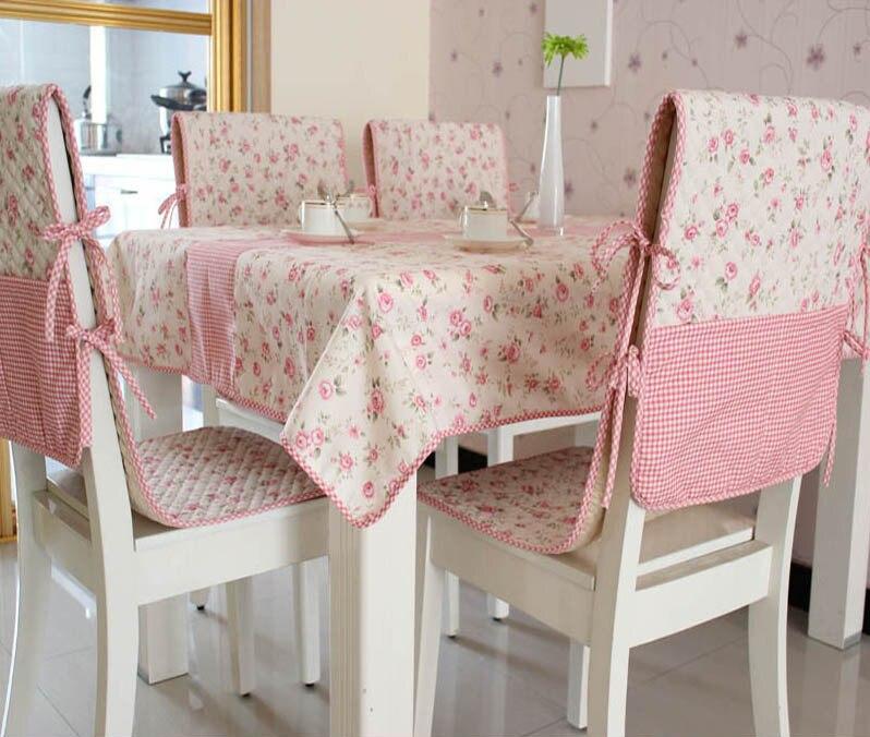 ✓2016 nuevas llegadas mantel algodón impreso flor patrón cubierta ...