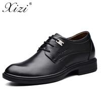 XIZI Brand 2017 Business Dress Men Formal Shoes Wedding Pointed Toe Fashion 100 Genuine Leather Shoe