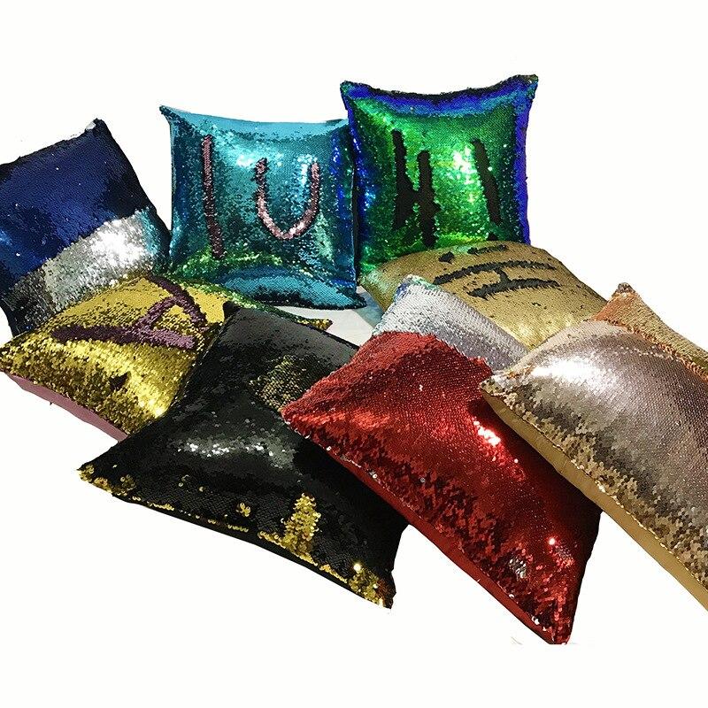 DIY Brilho Lantejoulas Criado Quente Travesseiros capa Cafe Início Almofada Decorativa Caso Novidade brinquedos geek jogo brinquedo antistress Presente