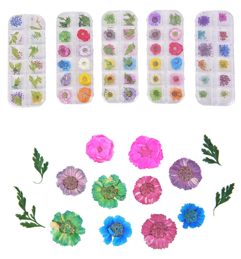 Flower Mixed Dried Plant  DIY Natural Dried Flowers For Epoxy Resin Pendant Necklace Jewelry Making Craft DIY Accessories