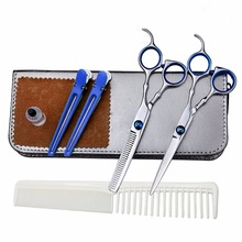 Professional Hairdressing 6 Inch Hair Cutting Thinning Scissors Set Barber Shears Salon Haircut Hair Style Styling Tools