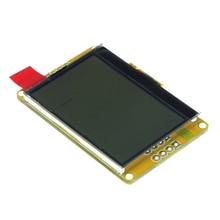 Умная Электроника 128×64 ЖК-дисплей Янтарное золото LED Подсветка ЖК-дисплей 128*64 Панель