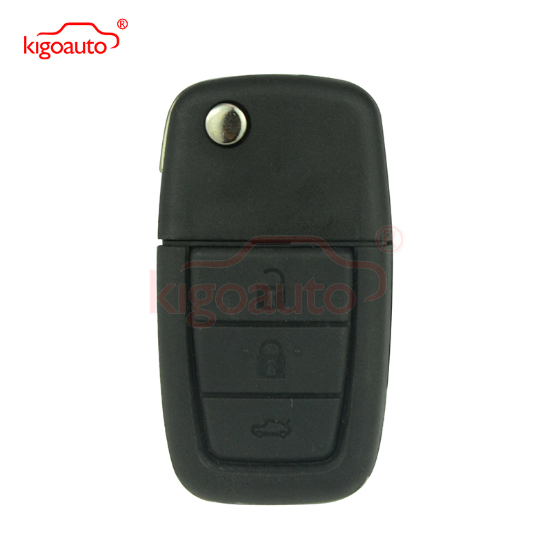 Флип дистанционный ключ 3 кнопки 433 мГц с GM45 лезвие ID46 чип для Холден ключ VE удаленный ключевой Commodore автомобиль ключ kigoauto