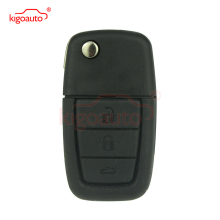 цена на Flip Remote key 3 button 433Mhz with GM45 blade ID46 chip for Holden key VE remote key Commodore car key kigoauto