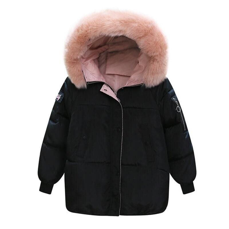 Poche Coton corail Doux Fourrure Pain jujube De Lâche blanc 2019 Femmes Col Coréen Red Court Jacket P rose Noir Avec Manteau Vêtements Rouge D'hiver Style 7g6r7xqa