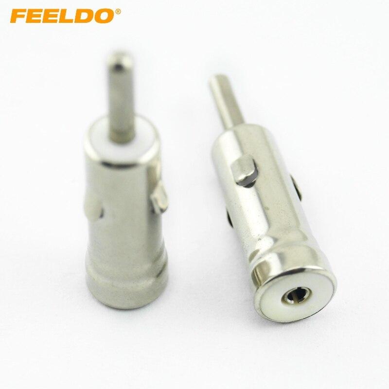 imágenes para FEELDO 20 Unids Coche AM/FM Radio Antena Adaptador de Enchufe Conectores Macho Conector según Din ISO # FD-1496