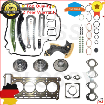 AP02 New Timing Chain Kit + Head Gasket Kit For Mercedes C,E W212