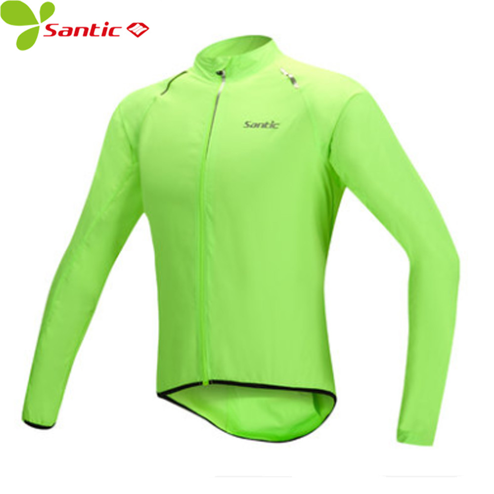 d1570d419 SANTIC Men Rain Coat Waterproof Cycling Jackets Bicycle Bike Windbreaker  Jersey
