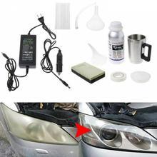 Car Headlight Glass Refurbishment Tool Kit Hydrophobic Coating Scratch Repair for Car Care