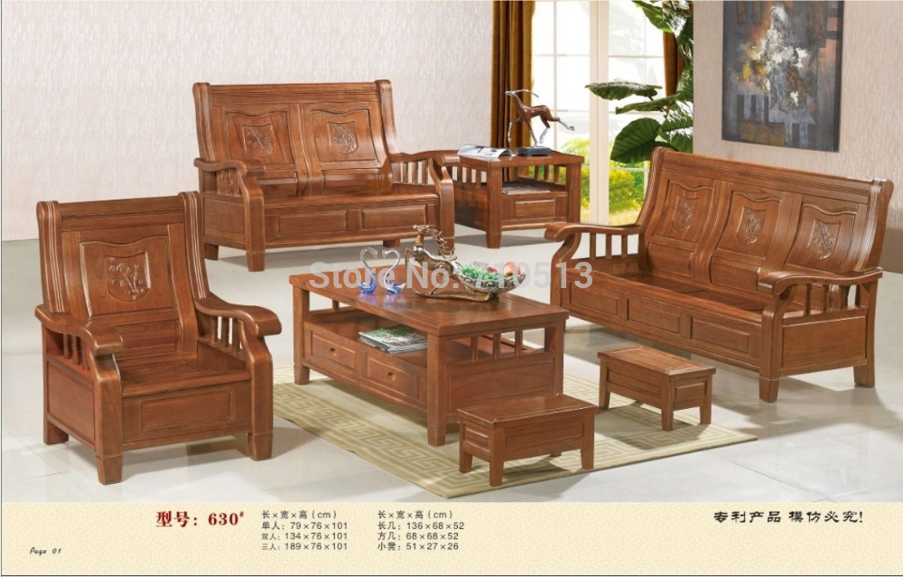 Wooden Sofa Set Good Quality Furniture For Living Room Or Office In Sofas From On Aliexpress